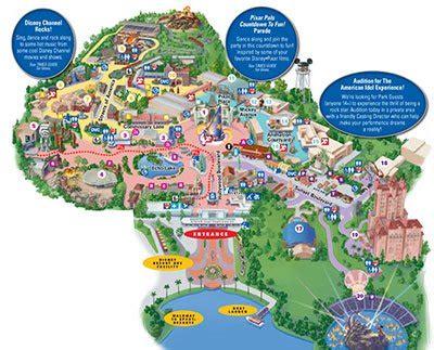 hollywood studios map orlandovacation.com