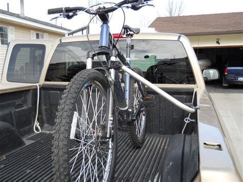Truck Bed Bicycle Rack by Topline 2 Bike Carrier Truck Bed Mounted Expandable Bike Rack