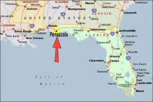 pensacola florida on map whatsup june 2005