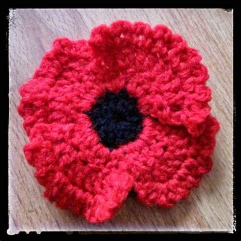 pattern to crochet a poppy crochet poppy