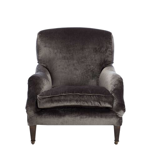 grey velvet armchair linthwaite velvet club chair grey chairs living room
