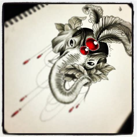 elephant tattoo drawing elephant tattoo drawing tattoos pinterest