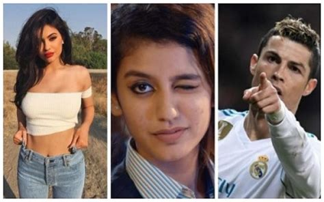 cristiano ronaldo biography in malayalam priya prakash varrier record 3rd most followed celebrity
