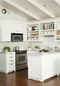 Cottage Kitchen Backsplash Ideas Kitchen Subway Tile Backsplash Ideas With White Cabinets