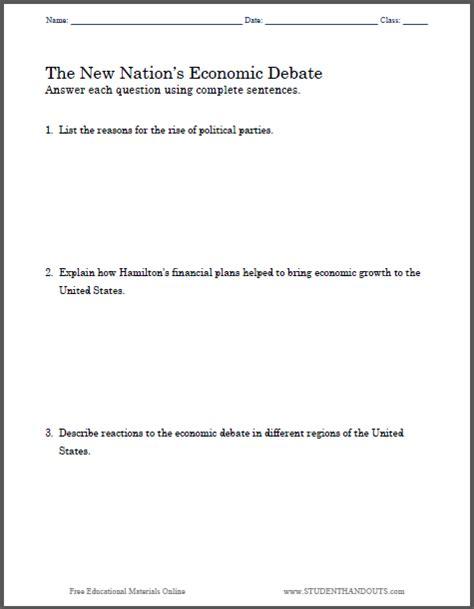 Economics Worksheets by Worksheet Economics Worksheets For High School Caytailoc