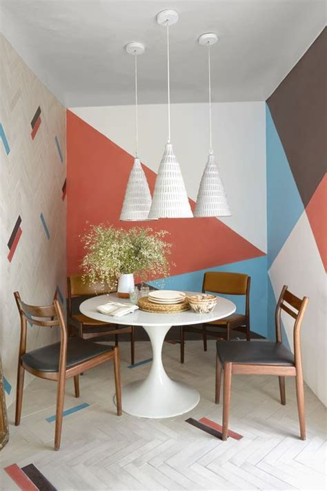 geometric wall ideas  geometric paint