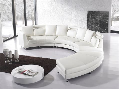 rounded sectional sofa round sectional sofa for unique seating alternative
