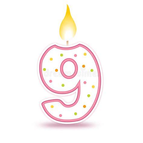 immagini candele compleanno candela di compleanno 9 immagini stock libere da diritti