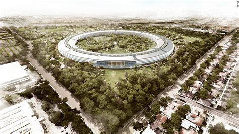 apple headquarters apple s new spaceship cus what will the neighbors