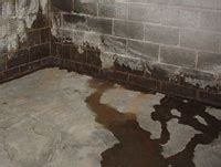 basement wall leak basement repair how where basements leak in ohio