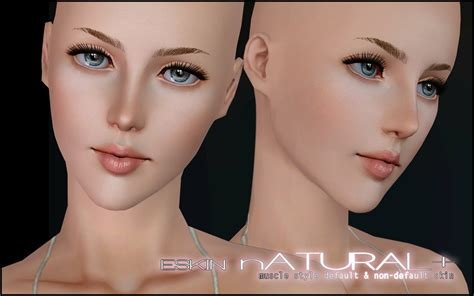 sims 3 cc skin color mod the sims eskin natural