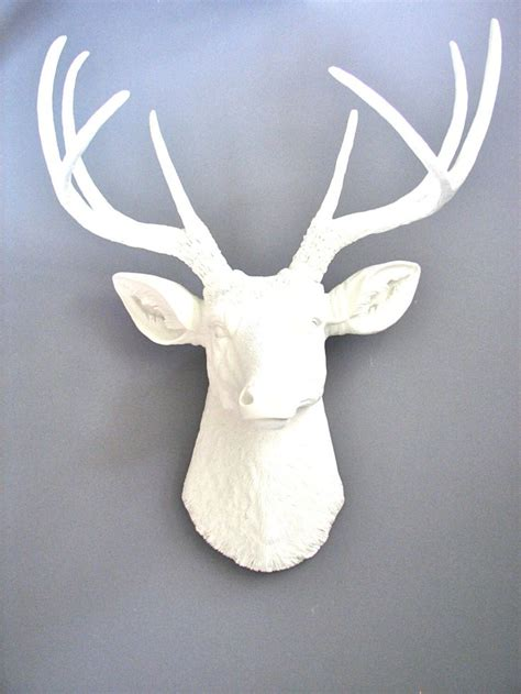 White Deer Wall Decor by 17 Best Ideas About White Deer Heads On Faux Deer Deer Heads And Mounted Deer