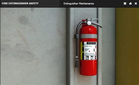 fire extinguisher mounting height fire extinguisher standard mounting height