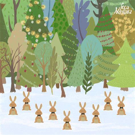 rabbit christmas gif  gifer  redfang