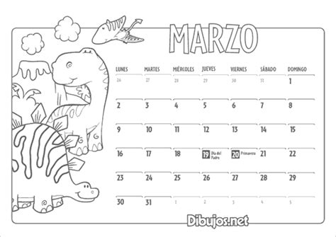 calendario para colorear descargar el calendario infantil 2015 para colorear de
