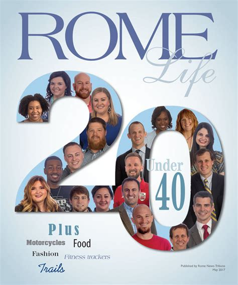 Whos News Lifestyle Magazine 11 by Rome Magazine In Copies Of Today S Paper Local News