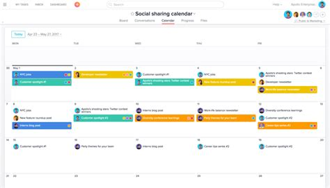 social media posting calendar template 4 time saving social media management workflows and templates