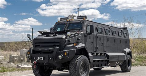 personal armored vehicles inkas 174 introduces huron unique armored personnel carrier