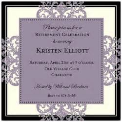 Halloween Cocktail Party - decorative square border eggplant retirement invitations paperstyle