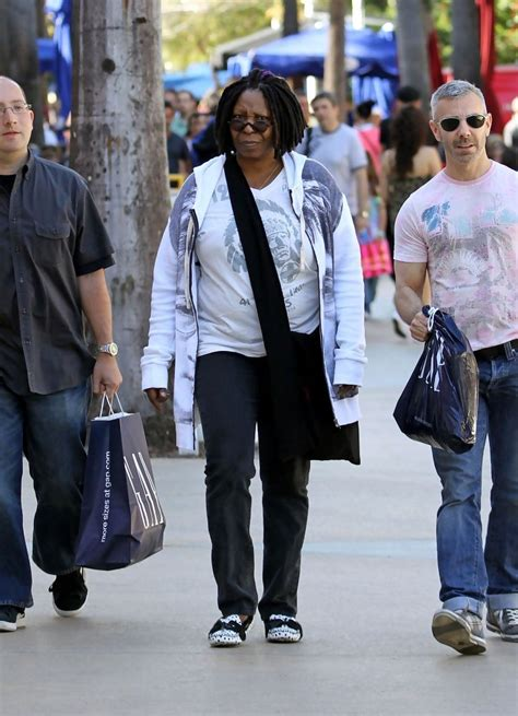 whoopi goldberg boyfriend 2015 whoopi goldberg shops along lincoln road pictures zimbio