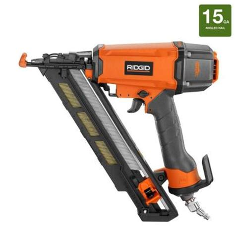 ridgid 15 2 1 2 in angled nailer r250afe the home