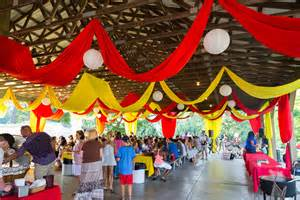 fun carnival style wedding at smokey glen in gaithersburg