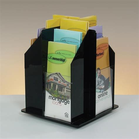 10 Arise Pop Up Curve Floor Display by 12 Pocket Rotating Brochure Holder Countertop China