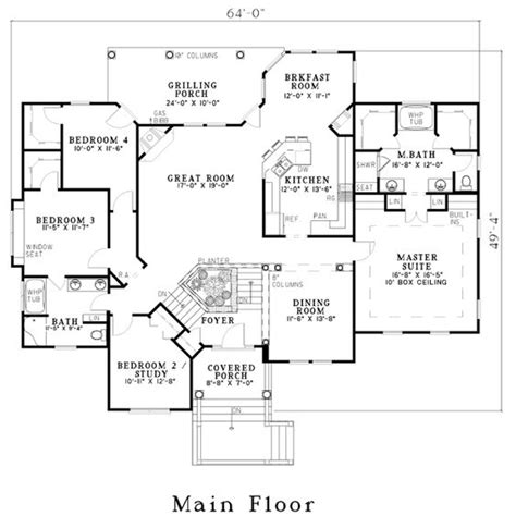 rec room floor plans house plan 62339 house plans planters and rec rooms
