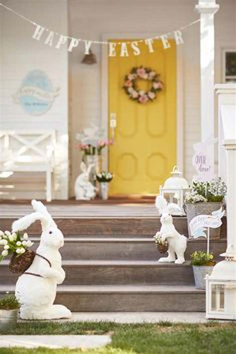 Easter Front Door Decorations 29 Cool Diy Outdoor Easter Decorating Ideas Amazing Diy Interior Home Design