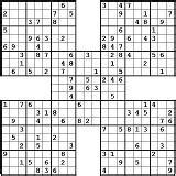printable triple sudoku image gallery samurai sudoku