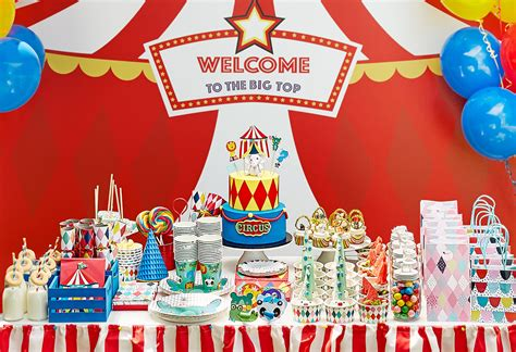 carnival themes ideas kids party theme circus carnival kmart