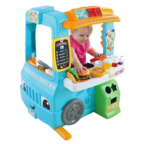 fisher price laugh and learn activity fisher price laugh learn servin up fun food truck