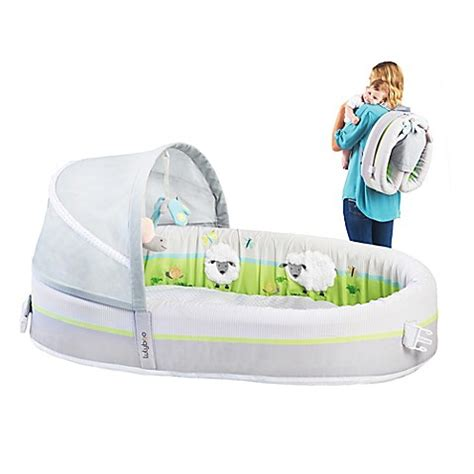 travel baby bed buy lulyboo 174 baby lounge premium travel bed from bed bath