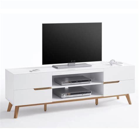 mobili soggiorno tv alce porta tv bianco opaco e rovere mobile soggiorno moderno