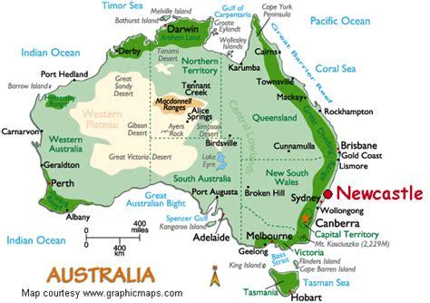 newcastle australia map newcastle australia map and newcastle australia satellite