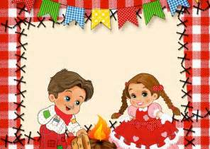 convite kit festa junina vermelho e branco 142