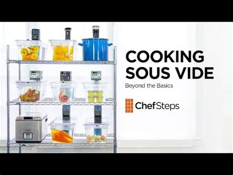 sous vide create your culinary masterpieces using this modern technology books cooking sous vide beyond the basics all recipes
