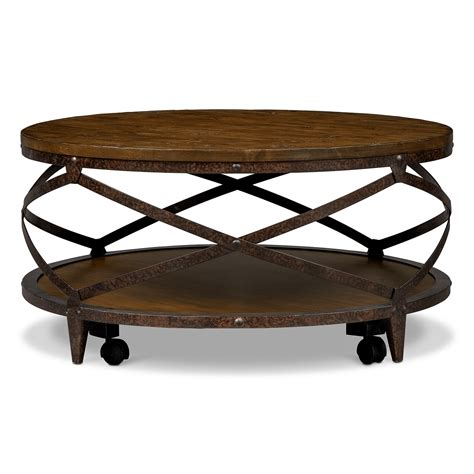 American Furniture Coffee Tables Shortline Cocktail Table Distressed Pine American Signature Furniture