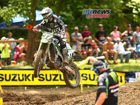 lucas ama pro motocross chionship ken roczen goes 1 1 at creek mcnews com au