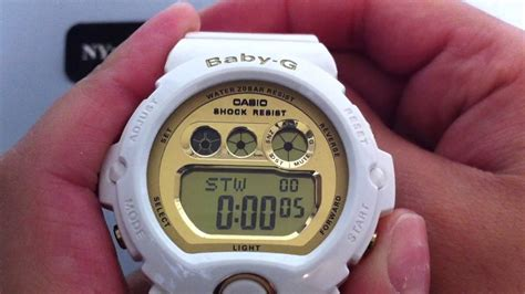 Casio Baby G Bg 6901 7 Casio Original To Laedis white casio baby g large digital sports bg6901 7