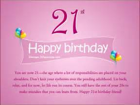 21st birthday card messages 21st birthday wishes for a friend 365greetings
