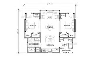 Simple Farmhouse Floor Plans by Simple Farmhouse Plans House Plans