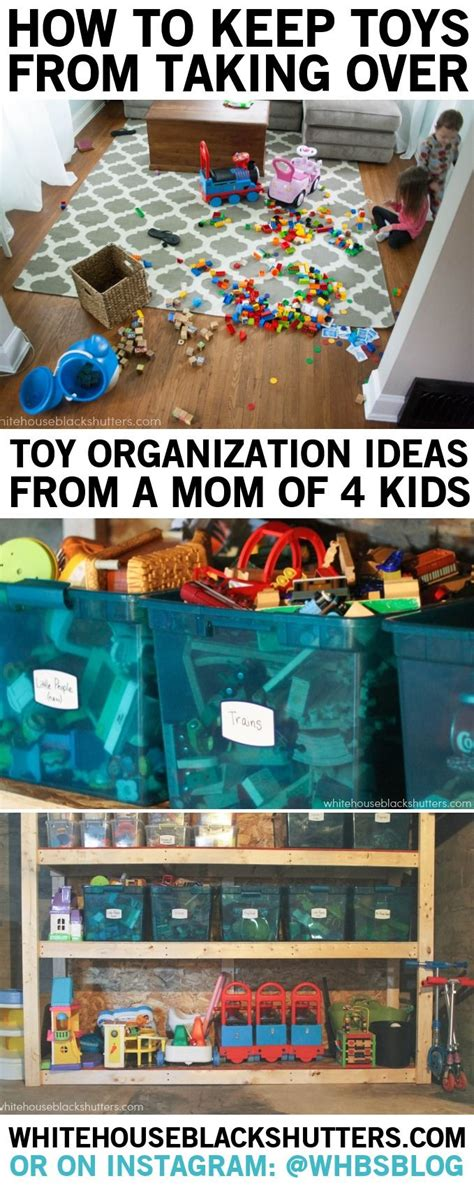 how to organize kids toys how to keep the toys from taking over white house black