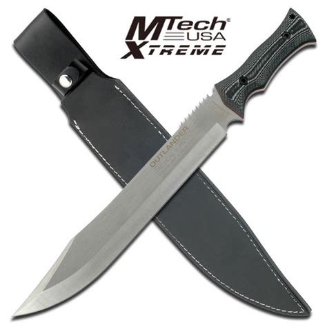 thick machete 18 quot tang 7mm thick blade outlander tactical survival