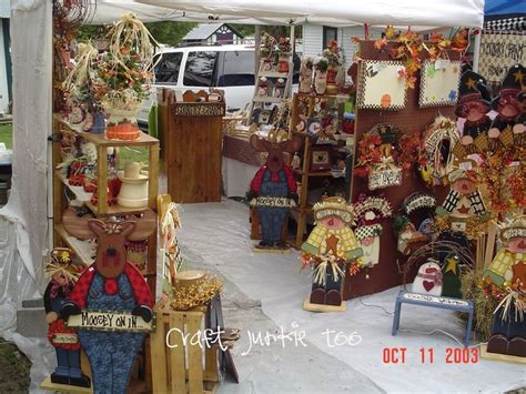 country craft show pretty primitives wood patterns craft junkie fall