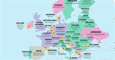 tripadvisor best cities this map shows you every country s most visited tourist