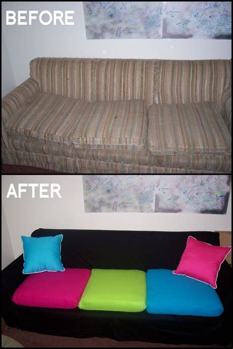 how to cover a couch with a sheet couch makeover diy couch and couch on pinterest