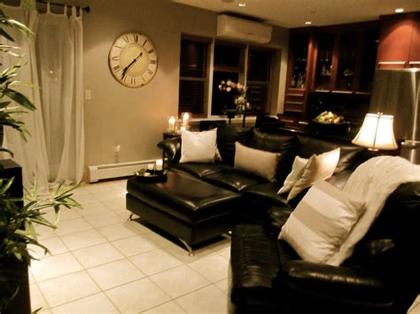 black leather couches ideas  pinterest living
