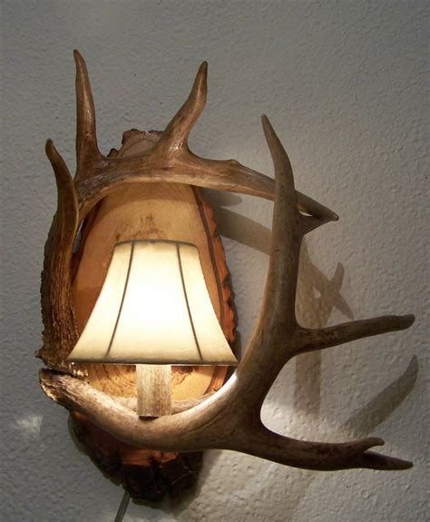 Antler Wall Sconce Wall Sconce Michigan Antler