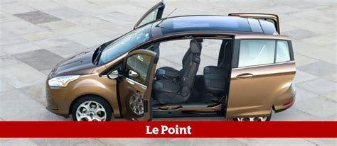 Voiture Avec Porte Coulissante Arriere by Ford B Max La Quadrature De La Porti 232 Re Automobile
